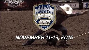 Elite Rodeo Athletes 2016 World Championship TV Spot, 'Reserve Your Seat' - Thumbnail 3