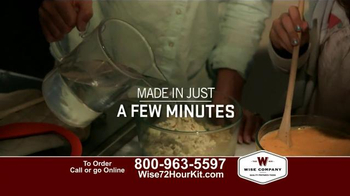 Wise Company 72-Hour Emergency Food Supply Kit TV Spot, 'Unpredictable' - Thumbnail 7