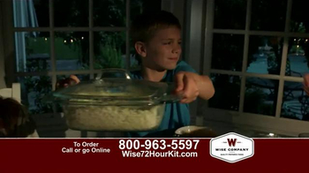 Wise Company 72-Hour Emergency Food Supply Kit TV Spot, 'Unpredictable' - Thumbnail 8