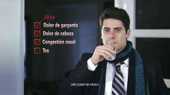 Next Daytime Cold & Flu Relief TV Spot, 'La batalla' [Spanish] - Thumbnail 5