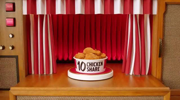 KFC $10 Chicken Share TV Spot, 'Para todos' [Spanish]