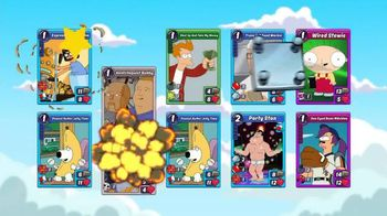 Animation Throwdown: The Quest for Cards TV Spot, 'Favorite Characters' - 7 commercial airings