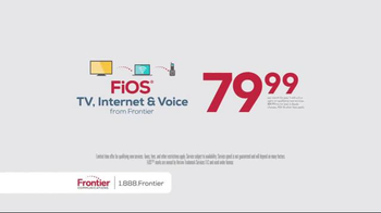 Frontier FiOs Triple Play TV Spot, 'Experience the Power' - Thumbnail 7