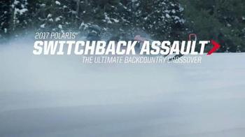 2017 Polaris Switchback Assault TV Spot, 'Ultimate Backcountry Crossover' - Thumbnail 2