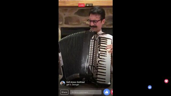 Facebook Live TV Spot, 'Accordion'