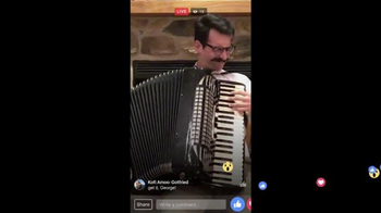 Facebook Live TV Spot, 'Accordion' - Thumbnail 4