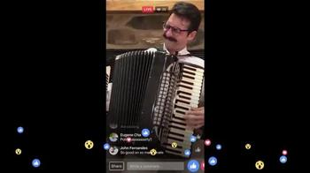 Facebook Live TV Spot, 'Accordion' - Thumbnail 5