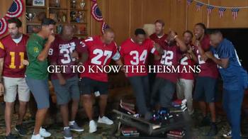 Nissan TV Spot, 'Heisman House: Fan Vote PSA' Ft. Tim Tebow, Danny Wuerffel - Thumbnail 4