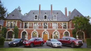 Nissan TV Spot, 'Heisman House: Fan Vote PSA' Ft. Tim Tebow, Danny Wuerffel - Thumbnail 1