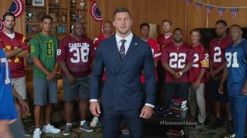 Nissan TV Spot, 'Heisman House: Fan Vote PSA' Ft. Tim Tebow, Danny Wuerffel - Thumbnail 2