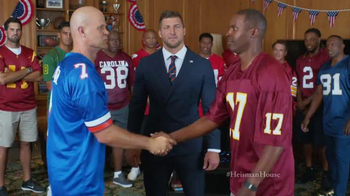 Nissan TV Spot, 'Heisman House: Fan Vote PSA' Ft. Tim Tebow, Danny Wuerffel - 3 commercial airings
