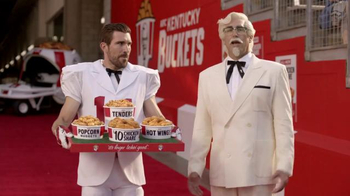 KFC $10 Chicken Share TV Spot, 'Slap' Featuring Rob Riggle - Thumbnail 1