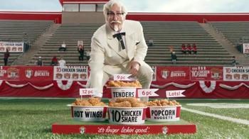 KFC $10 Chicken Share TV Spot, 'Slap' Featuring Rob Riggle - Thumbnail 9