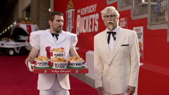 KFC $10 Chicken Share TV Spot, 'Slap' Featuring Rob Riggle - Thumbnail 3