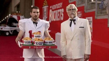 KFC $10 Chicken Share TV Spot, 'Slap' Featuring Rob Riggle - Thumbnail 5