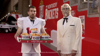 KFC $10 Chicken Share TV Spot, 'Slap' Featuring Rob Riggle - Thumbnail 7