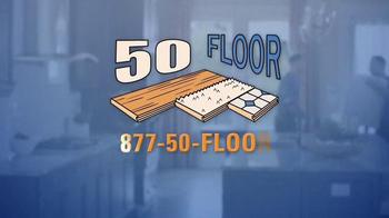 50 Floor 60% Off Sale TV Spot, 'Save Time & Money' Featuring Richard Karn - Thumbnail 10