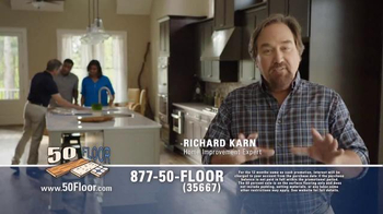 50 Floor 60% Off Sale TV Spot, 'Save Time & Money' Featuring Richard Karn - Thumbnail 2
