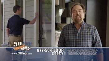 50 Floor 60% Off Sale TV Spot, 'Save Time & Money' Featuring Richard Karn - Thumbnail 4