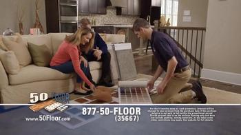 50 Floor 60% Off Sale TV Spot, 'Save Time & Money' Featuring Richard Karn - Thumbnail 5