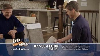 50 Floor 60% Off Sale TV Spot, 'Save Time & Money' Featuring Richard Karn - Thumbnail 6