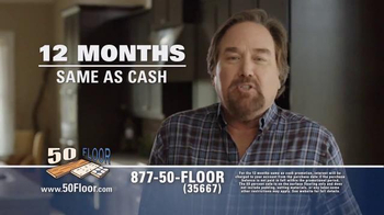 50 Floor 60% Off Sale TV Spot, 'Save Time & Money' Featuring Richard Karn - Thumbnail 8