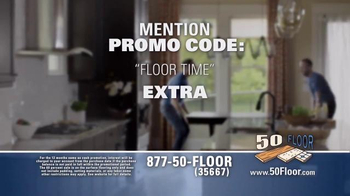 50 Floor 60% Off Sale TV Spot, 'Save Time & Money' Featuring Richard Karn - Thumbnail 9