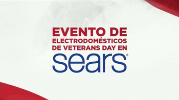 Sears Evento de Electrodomésticos de Veterans Day TV Spot, 'Más' [Spanish] - Thumbnail 2