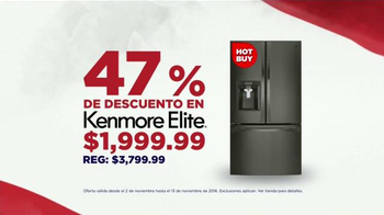 Sears Evento de Electrodomésticos de Veterans Day TV Spot, 'Más' [Spanish] - Thumbnail 4