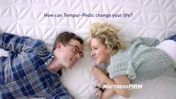 Mattress Firm TV Spot, 'Save On TEMPUR-Pedic' - Thumbnail 1