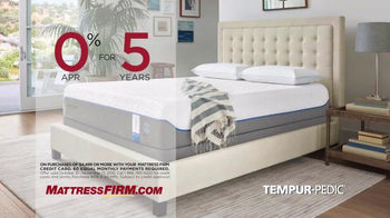 Mattress Firm TV Spot, 'Save On TEMPUR-Pedic' - Thumbnail 8