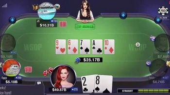 World Series Poker App TV Spot, 'Game Action'