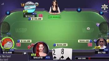 World Series Poker App TV Spot, 'Game Action' - Thumbnail 2