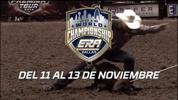 Elite Rodeo Athletes 2016 World Championship TV Spot, 'Títulos' [Spanish] - 246 commercial airings