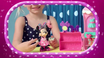 Minnie Sparkle 'n Spin Fashion Bow-tique TV Spot, 'Disney Junior: Bows' - 20 commercial airings