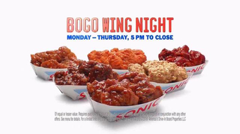 Sonic Drive-In BOGO Wings TV Spot, 'The Taste of Free' - Thumbnail 9