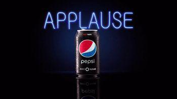 Pepsi Zero Sugar TV Spot, 'Applause'