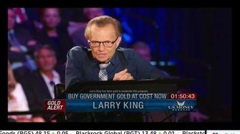 U.S. Money Reserve TV Spot, 'Gold Summit' Featuring Larry King