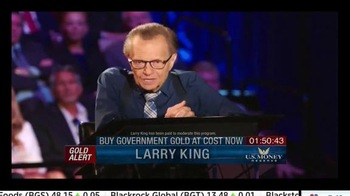 U.S. Money Reserve TV Spot, 'Gold Summit' Featuring Larry King - Thumbnail 1
