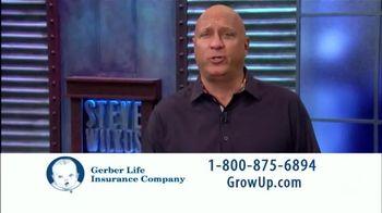 Gerber Life Insurance Grow-Up Plan TV Spot, 'Foundation' Feat. Steve Wilkos