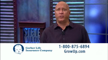 Gerber Life Insurance Grow-Up Plan TV Spot, 'Foundation' Feat. Steve Wilkos