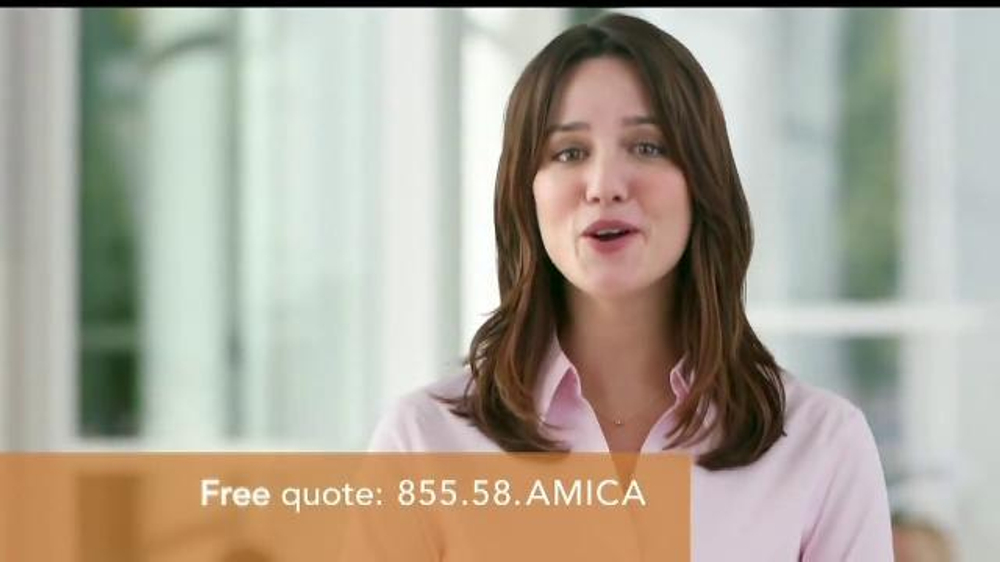 Amica mutual insurance company tv commercial 39 ask around for Is amica insurance good