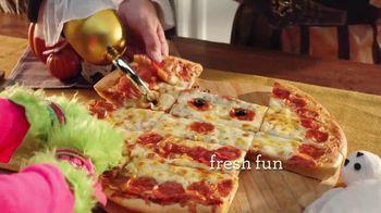 Papa Murphy's Jack-O-Lantern Pizza TV Spot, 'Little Monsters'