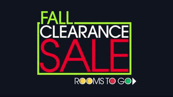 Rooms to Go Fall Clearance Sale TV Spot, 'Time Is Ticking' - Thumbnail 2