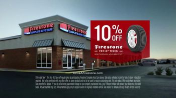 Firestone Complete Auto Care TV Spot, 'The Hands Behind It: FR710 Tires'