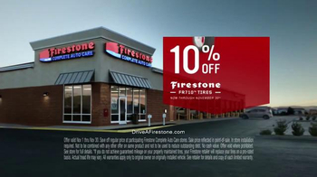Firestone Complete Auto Care TV Spot, 'The Hands Behind It: FR710 Tires' - Thumbnail 7
