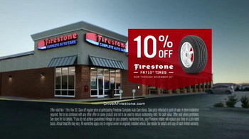 Firestone Complete Auto Care TV Spot, 'The Hands Behind It: FR710 Tires' - Thumbnail 9