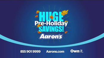 Aaron's Huge Pre-Holiday Savings Event TV Spot, 'Layaway'