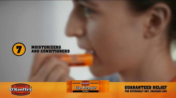 O'Keeffe's Lip Repair TV Spot, 'Fireworks of Flavor' - Thumbnail 5