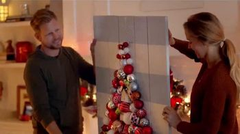 The Home Depot TV Spot, 'Star Shower: New Spin on Red and Green' - 1548 commercial airings